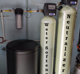 Big Improvement with Water Supply in Fletcher Home