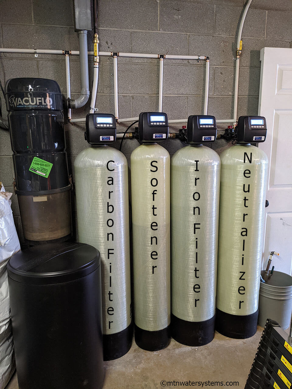 Asheville Family Invested in the Best in Water Filtration