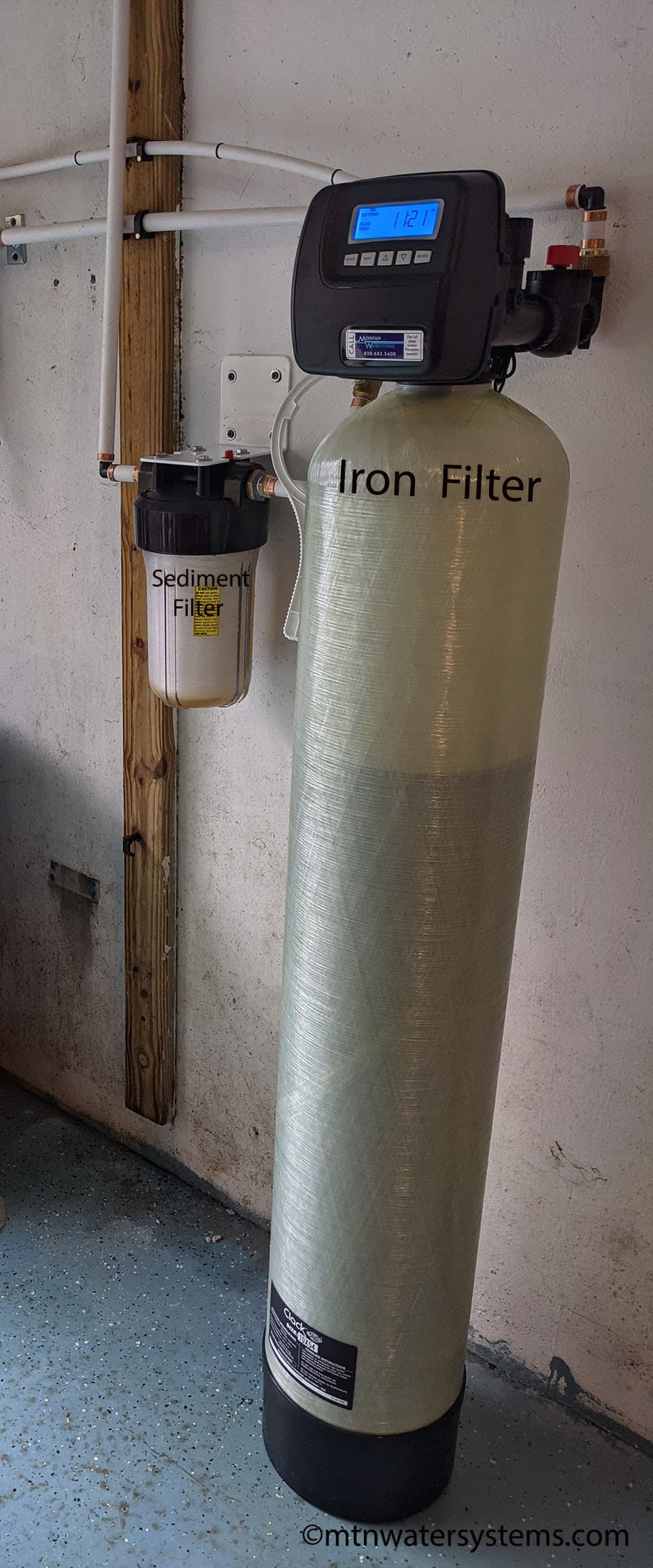 Iron Filter Stops the Rusty Staining Issue in Saluda