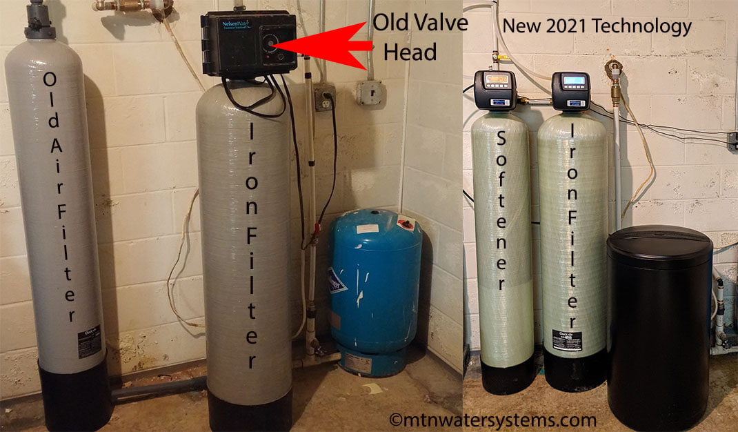 Candler Customer Has New Iron filter and Softener