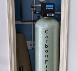 Whole House Carbon Filter Installed in Asheville