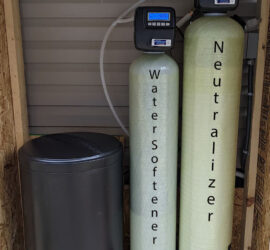 First Tennessee Neutralizer, Softener Install